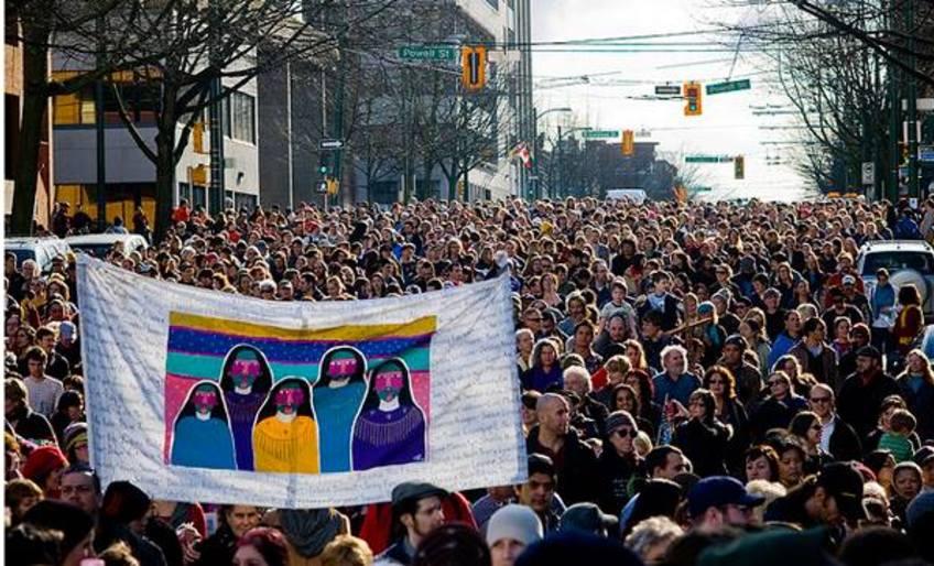 DTES Women's Memorial March