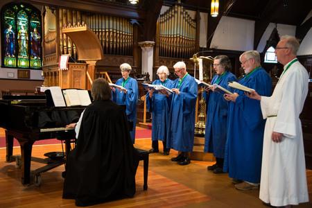 Choir Practice at St. Paul's
