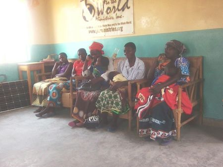 Welcoming New Church Members in Dzuwa