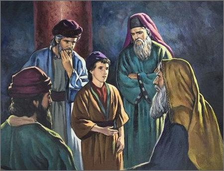 Luke 2:39-52 and Luke 3:21-22