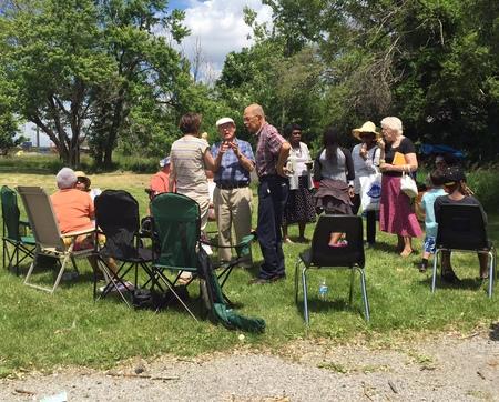 Church picnic fun for all!