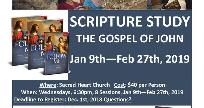 Scripture Study: Follow Me-The Gospel of John