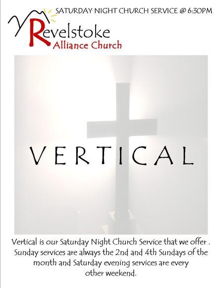 Vertical Saturday evening service