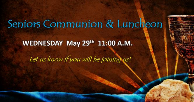 Seniors Communion & Luncheon