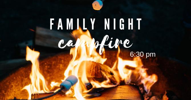 Church Family Night - Campfire