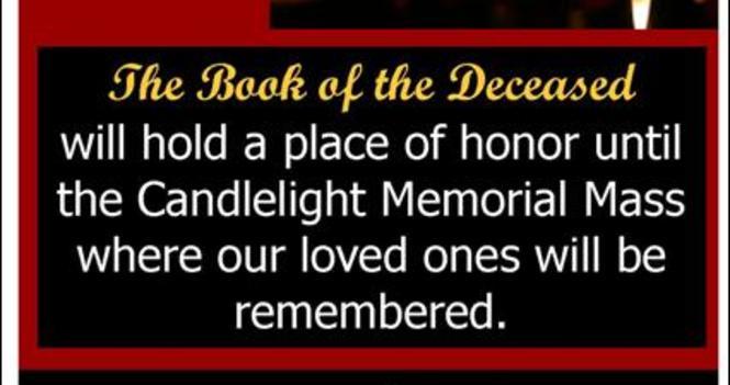 Candle Light Memorial Mass