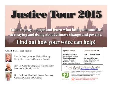 Justice Tour 2015