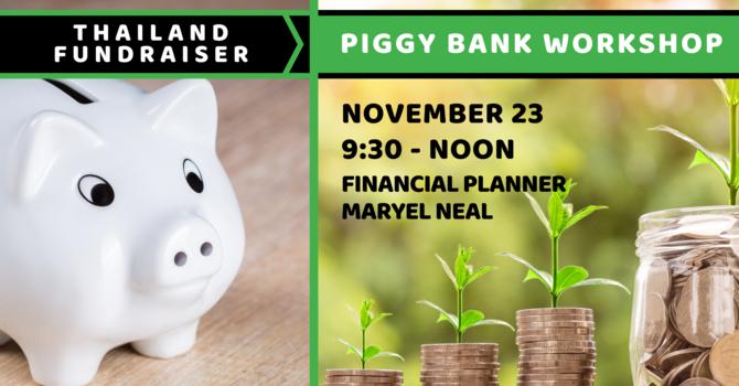 Piggy Bank Workshop