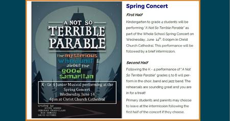 CCCS Spring Concert
