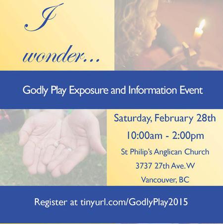 I wonder...Godly Play Event