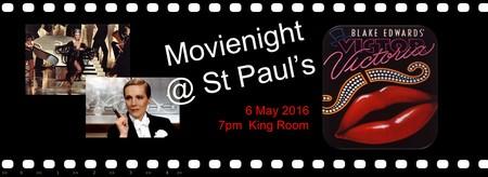 MovieNight @ St Paul's presents Victor Victoria