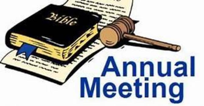 Annual Meeting of Parishioners